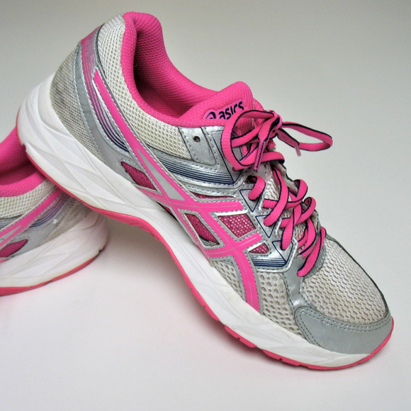 ASICS Women's Pink Gel Contend 3 Running Shoe